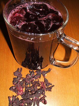 Каркаде - красный ароматный напиток, получаемый из цветов гибискуса Чай...